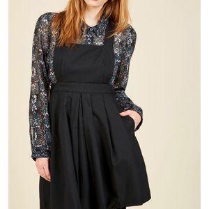 ModCloth Black jumper dress